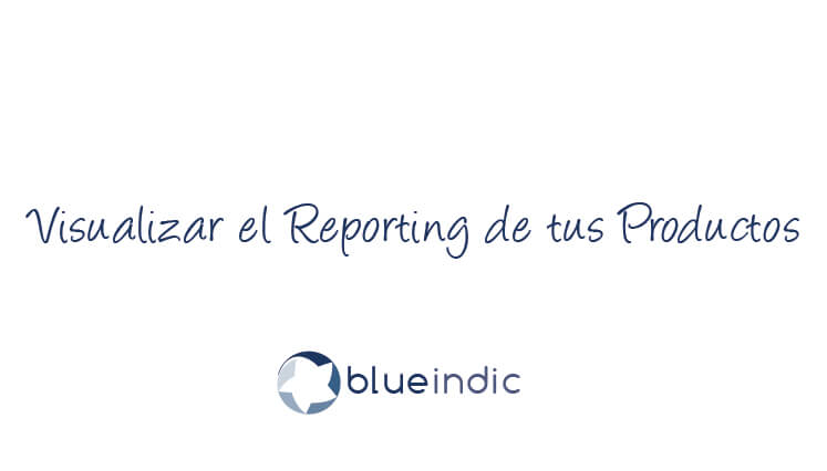 Visualizar el Reporting de tus Productos